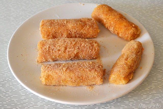 Estremamente Bastoncini di pesce - Ricetta Bastoncini di pesce di Misya TG59