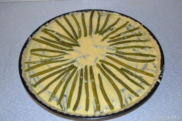 torta salata fagiolini