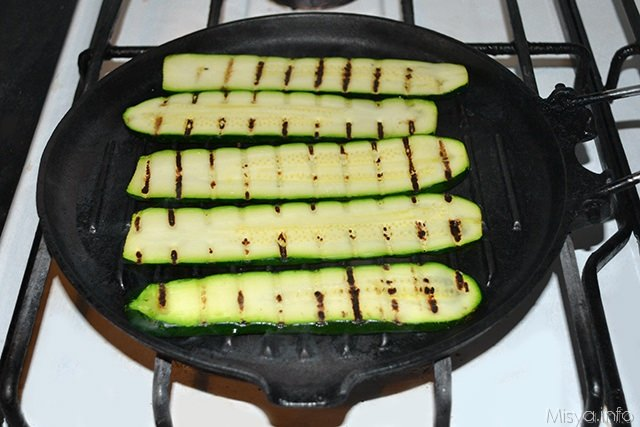 arrostire le zucchine