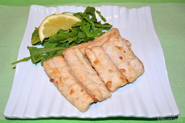 Pesce spatola fritto