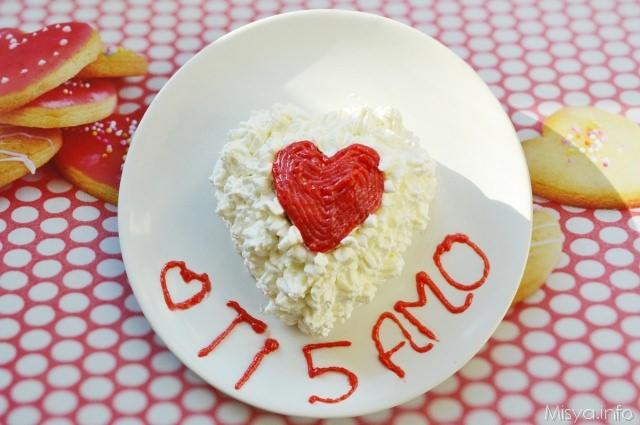 Preferenza Torta a cuore per due - Ricetta Torta a cuore per due di Misya JD14
