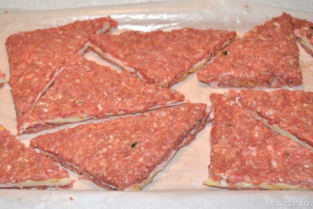 Conosciuto Tramezzini di carne - Ricetta Tramezzini di carne di Misya YP92