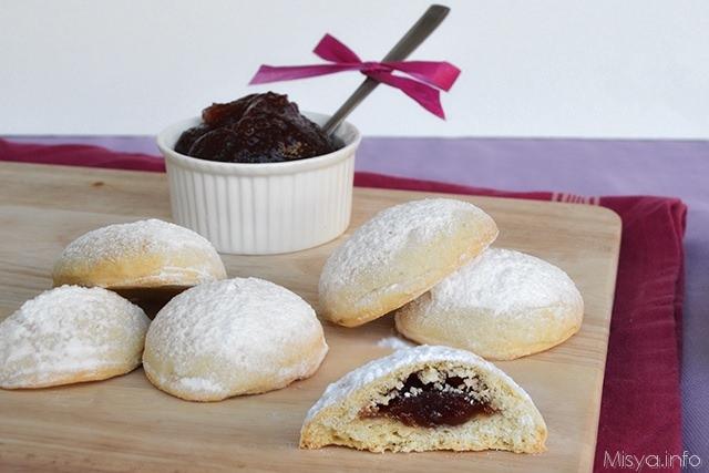 Biscotti Di Natale Con Marmellata.Biscotti Con Cuore Di Marmellata