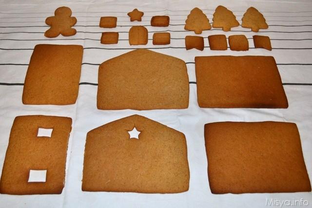 12 Casetta di pan di zenzero