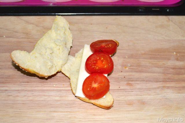 13 Cornetti salati di pasta brioche