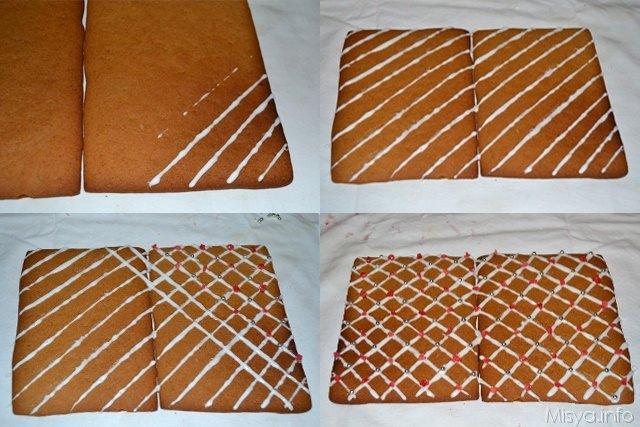 16 Casetta di pan di zenzero