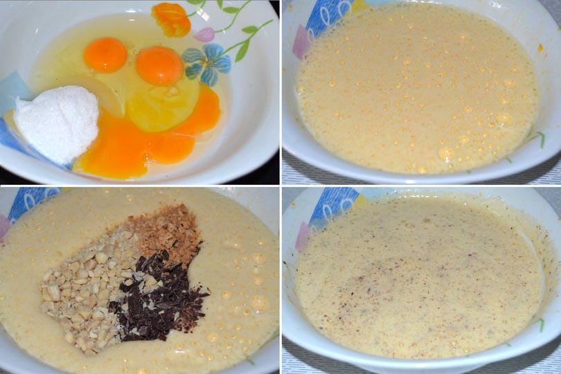 2 uova e cioccolato