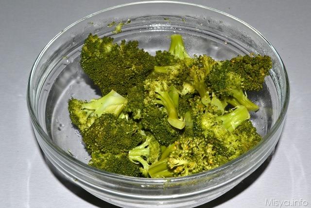 3 broccoli cotti