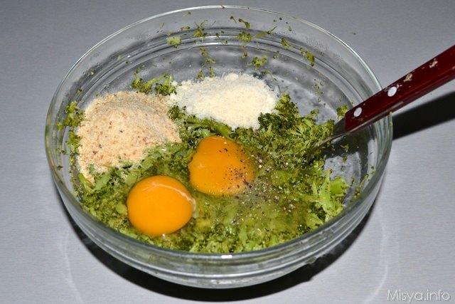4 impasto polpette di broccoli