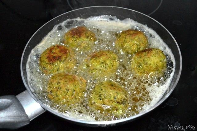 9 friggere polpette di broccoli