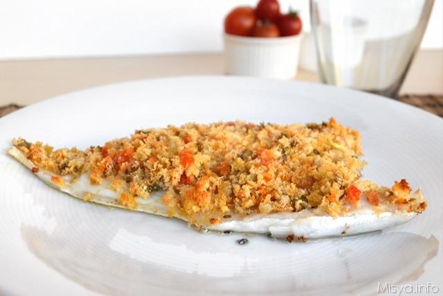 Filetti di orata gratinati ricetta filetti di orata gratinati di misya - Filetto di orata al forno su letto di patate ...
