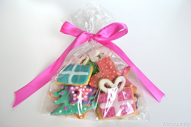biscotti di natale confezione