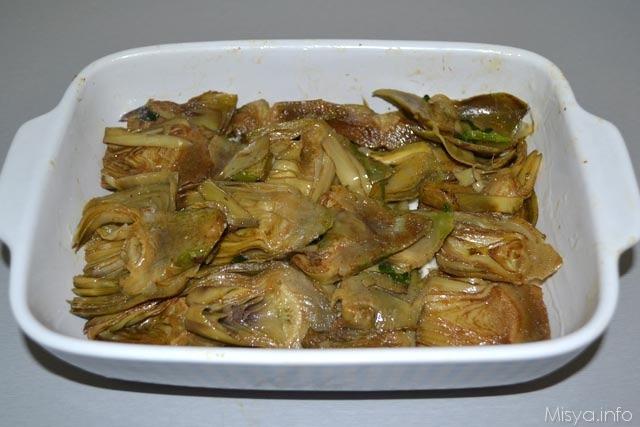 Parmigiana di carciofi bianca 8