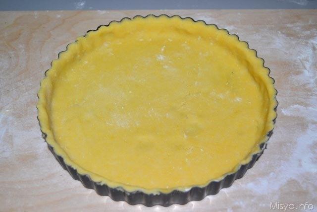 Crostata di fragole con Pasta sable 8