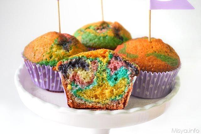 Muffin arlecchino ricetta muffin arlecchino di misya - Ricette che possono cucinare i bambini ...