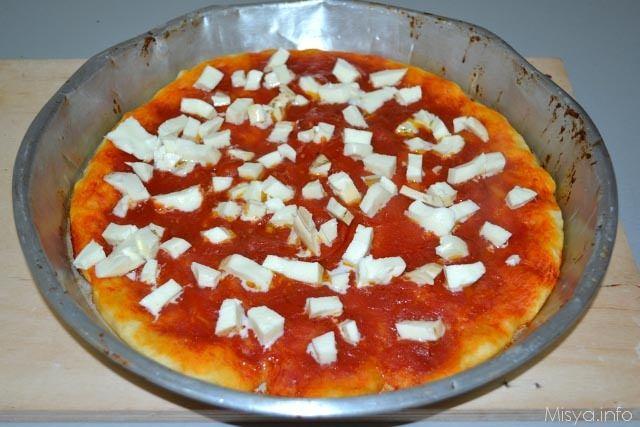pizza con lievito-madre 13