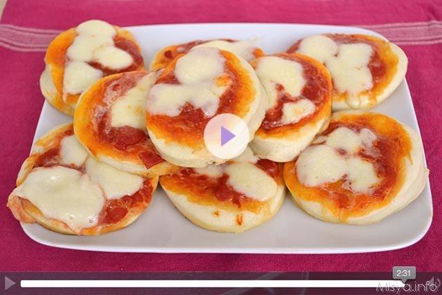 Videoricetta pizzette del bar