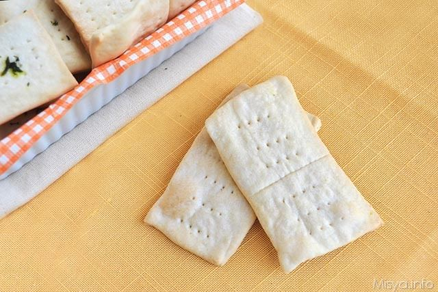 Crackers ricetta crackers di misya for Case di cracker di florida