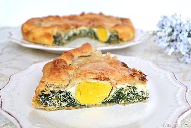 Torta Pasqualina Ricetta Torta Pasqualina Di Misya