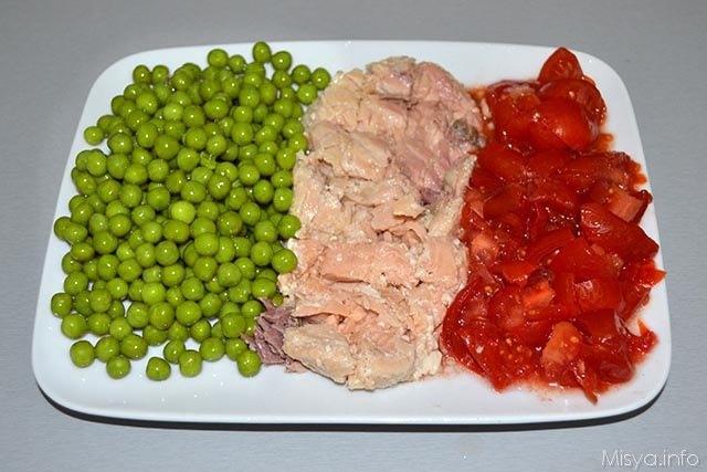 Cous cous con piselli e salmone 1