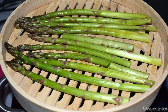 Insalata di asparagi e uova 2