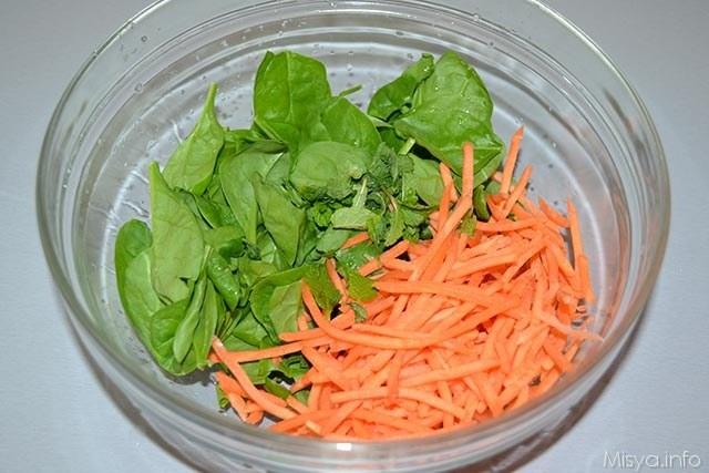 Insalata di farro con spinaci e feta 3