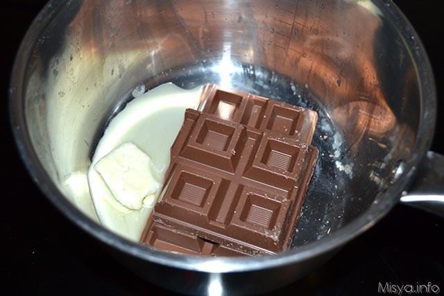 1 cioccolato e burro