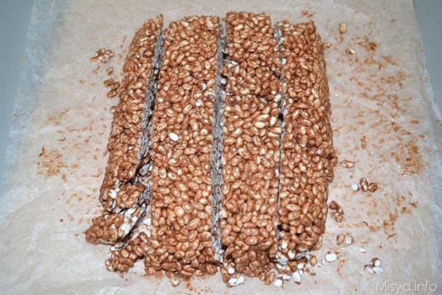 8 cioccolato e riso soffiato