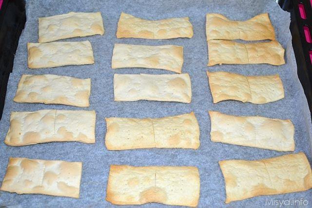 Crackers con esubero di pasta madre 11