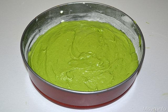 Green cake 11