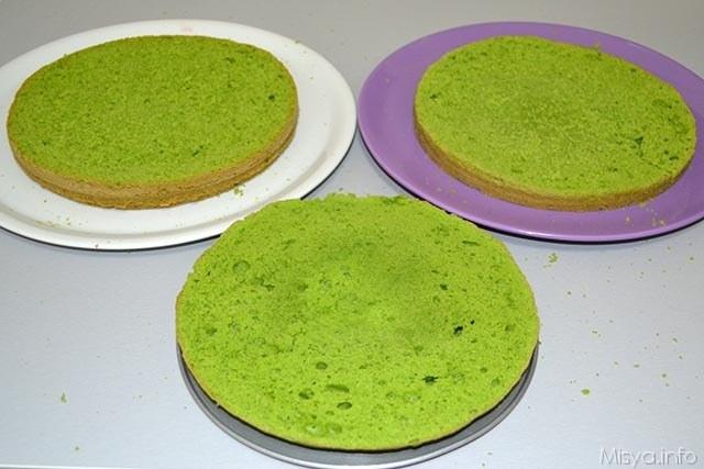 Green cake 14
