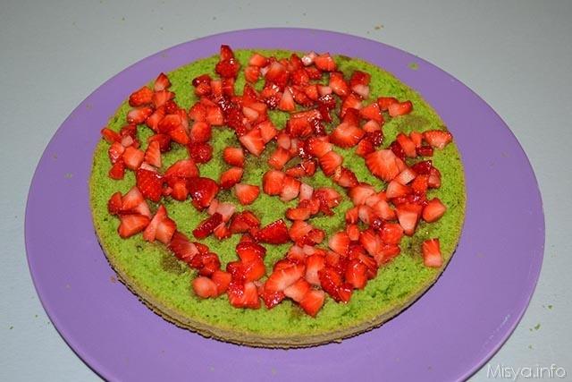 Green cake 18