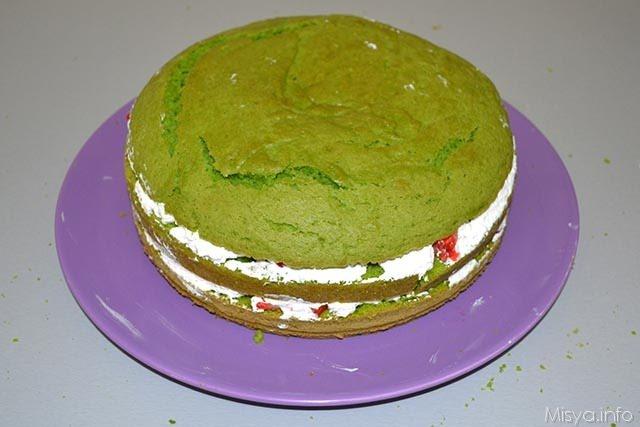 Green cake 21