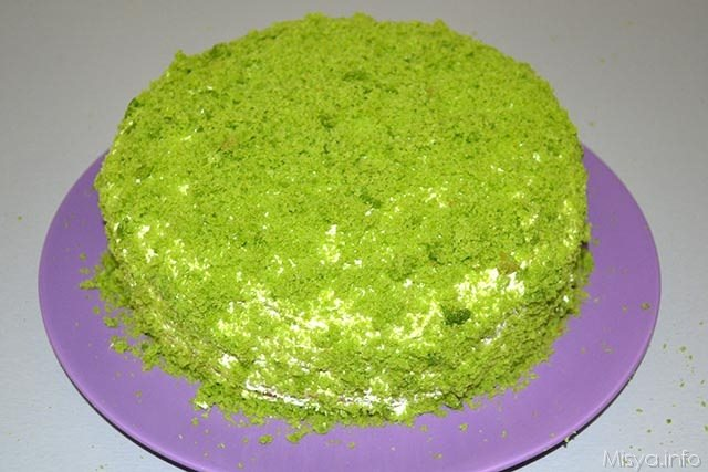 Green cake 24