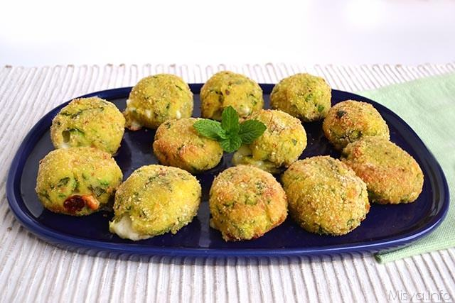Polpette di patate e zucchine