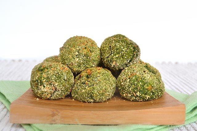 Ricette Secondi piatti Polpette di spinaci e ceci