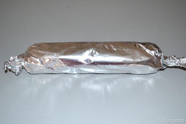 Salame di cioccolata senza uova 10