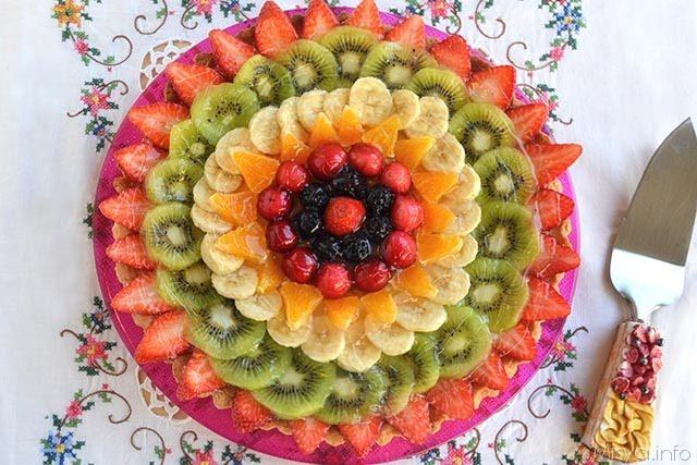 Crostata di frutta Ricetta Crostata di frutta di Misya
