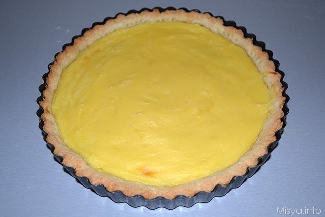 crostata crema pasticcera