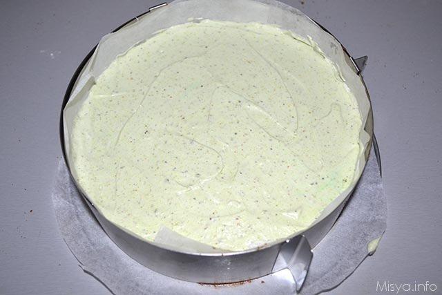 Cheesecake ai pistacchi 12