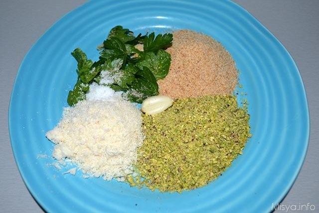 Filetto di salmone ai pistacchi 1