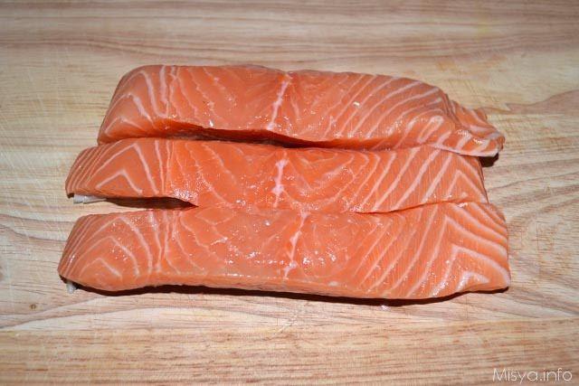 Filetto di salmone ai pistacchi 3