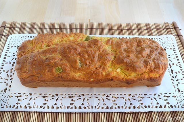 Plumcake feta e olive