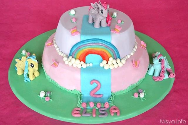 Popolare Torta my little pony - Ricetta Torta my little pony di Misya GG64