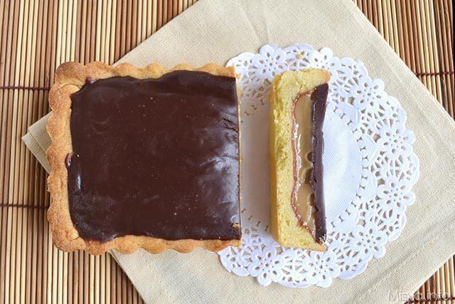 Twix tart