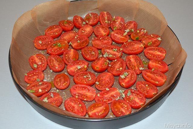 Cheesecake al pesto e pomodorini 9b