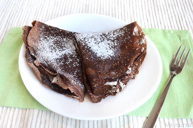 Crêpes al cacao