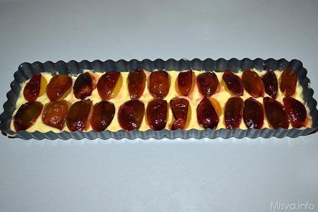 Torta crumble di prugne 14