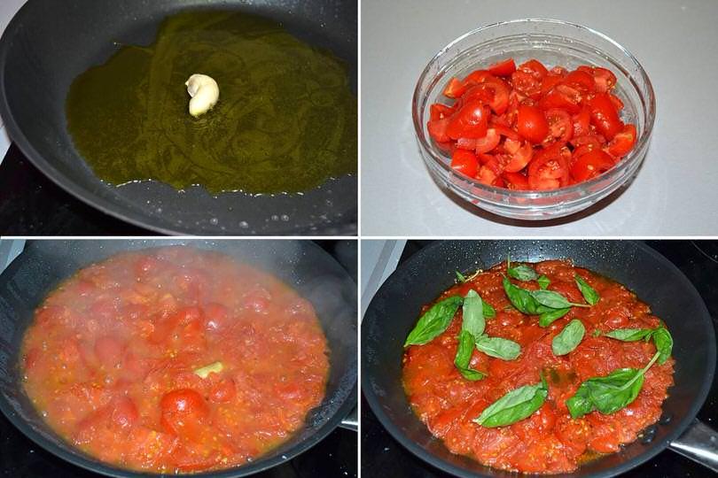 5 sugo aglio pomodorini