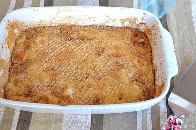 Pasticcio di patate e ricotta
